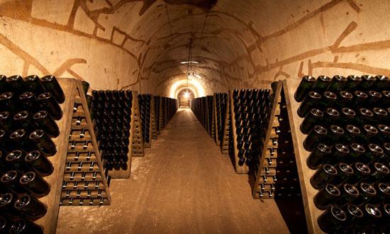 pol roger champagne cellar